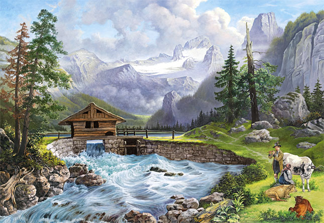 Castorland - 151127 - In Harmony with Nature - 1500 Piece ...