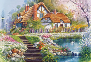 300327__Cottage_with_Swans__73736
