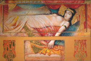 31220_-_Cleopatra_Asleep_Metallic__99035