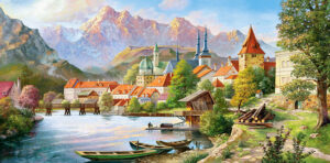 400058__Village_in_the_Mountains__15508