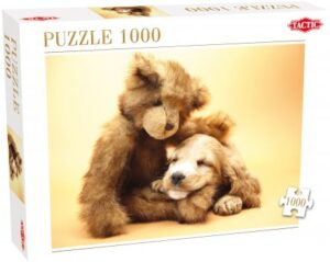 40912__Puppy_and_a_Teddy_Bear__03037