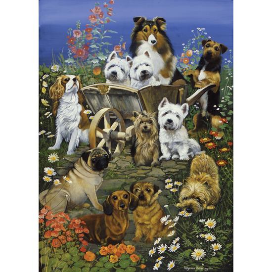 Otter House - 55067 - Garden Party (Pollyanna Pickering) - 1000 Piece