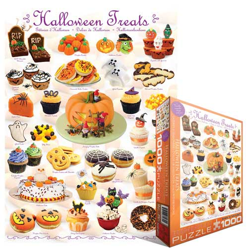 Eurographics 6000 0432 halloween treats 1000 piece for Cuisine 6000 euros