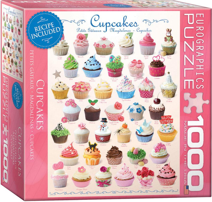 Eurographics 8000 0409 cupcakes 1000 piece barneys for Cuisine 8000 euros