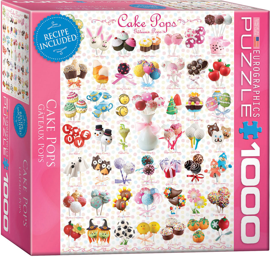 Eurographics 8000 0518 cake pops 1000 piece for Cuisine 8000 euros