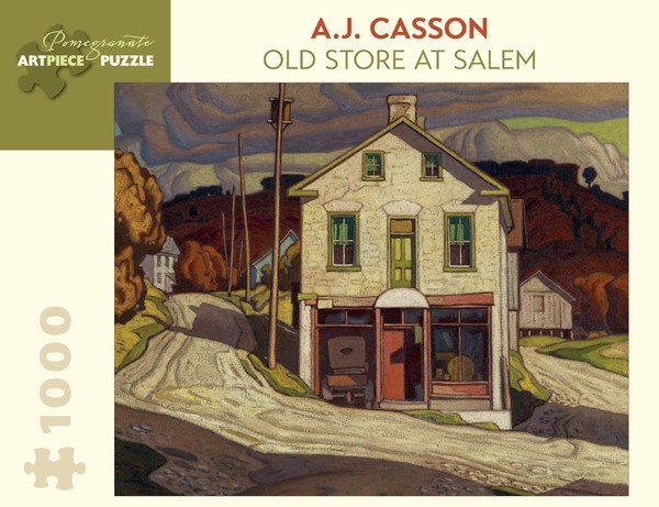 AA848__a-j-casson-old-store-at-salem-__57881