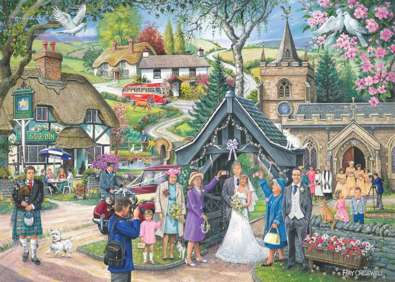 House Of Puzzles Ftd4 Wedding Day Ray Cresswell