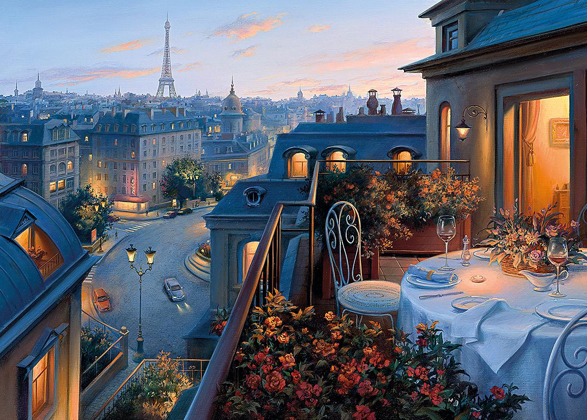 Gibsons 6141 An Evening In Paris 1000 Piece