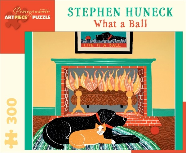 JK032__stephen-huneck-what-a-ball-__59355