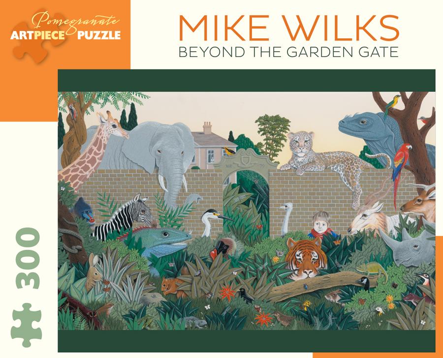 Pomegranate Jk039 Beyond The Garden Gate Mike Wilks
