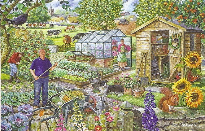 House Of Puzzles At The Allotment Ray Cresswell