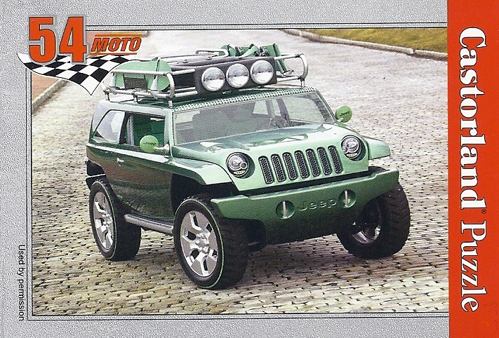 castorland j07 jeep willys concept vehicle 54piece barneys news box. Black Bedroom Furniture Sets. Home Design Ideas