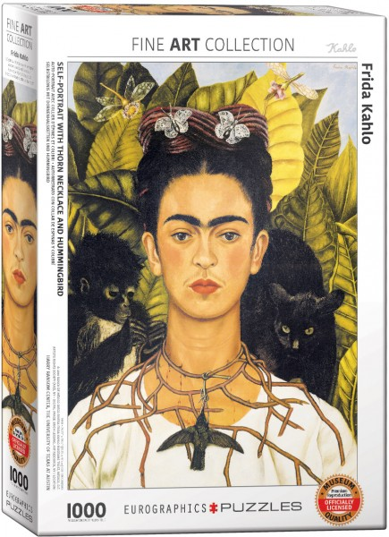 6000-0802  Kahlo Frida Self Portrait