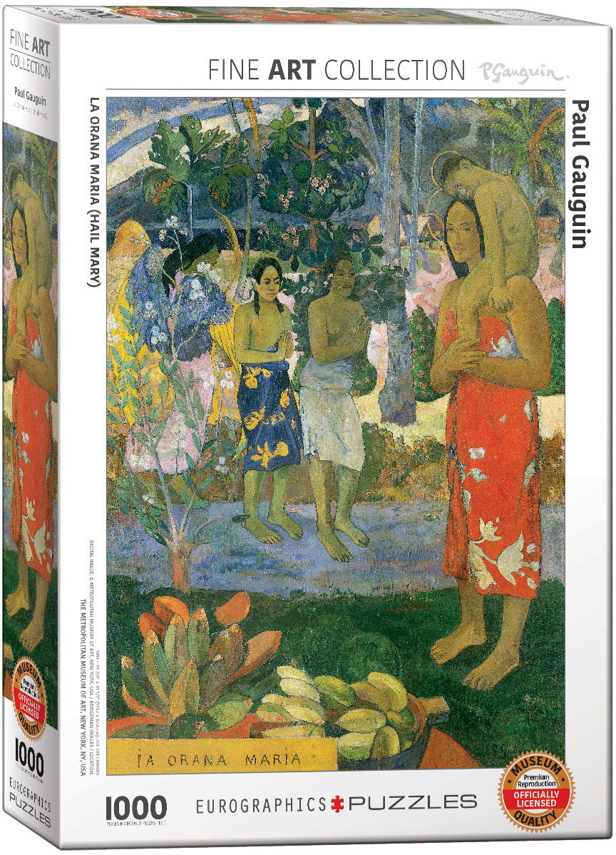 1000 Piece EuroGraphics Vegetable Garden Overcast Morning by Camille Pissarro Puzzle Eurographics Toys 6000-0825