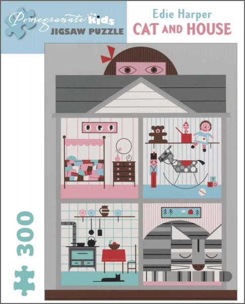 JK020 Cat and House
