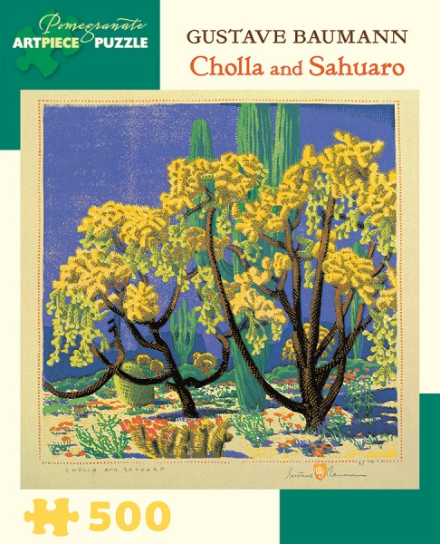 gustave-baumann-cholla-and-sahuaro-500-piece-jigsaw-puzzle-6