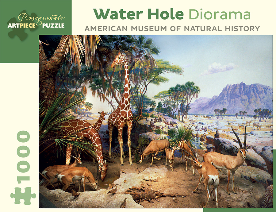 Pomegranate - AA939 - Water Hole Diorama (American Museum of Natural  History) - 1000 Piece