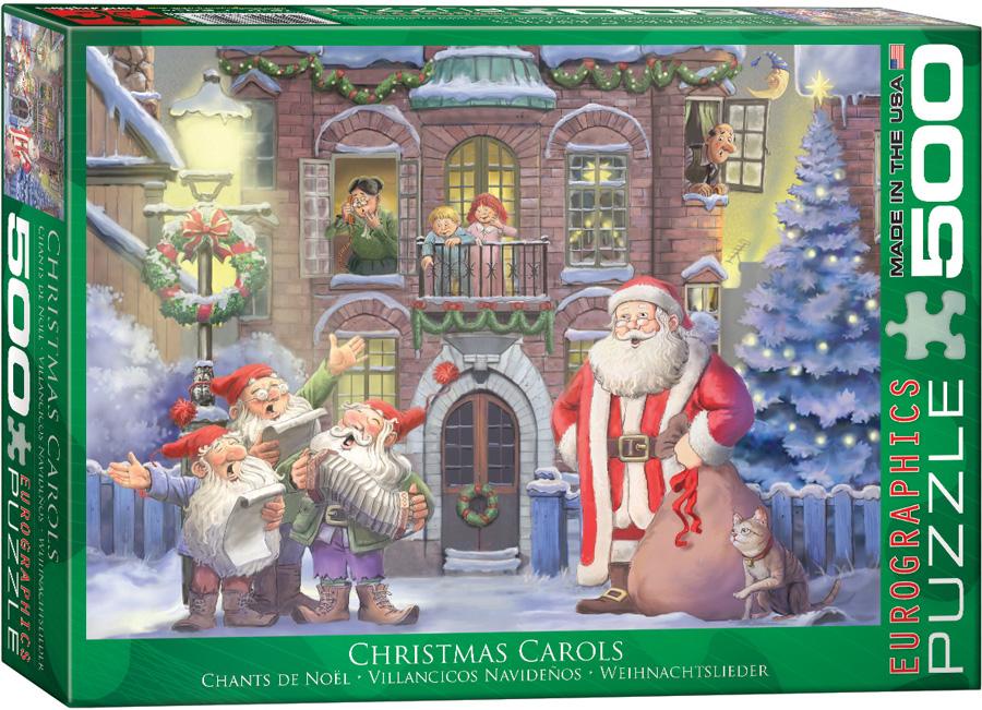 Barney Weihnachtslieder Text.Eurographics 6500 0352 Christmas Carols 500 Piece