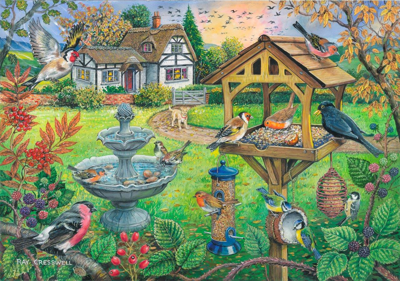 House Of Puzzles Bird Table Ray Cresswell 500 Xl