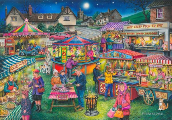 Find the Differences No. 13 - Village Fayre - 1000piece - lid - launches July 2017