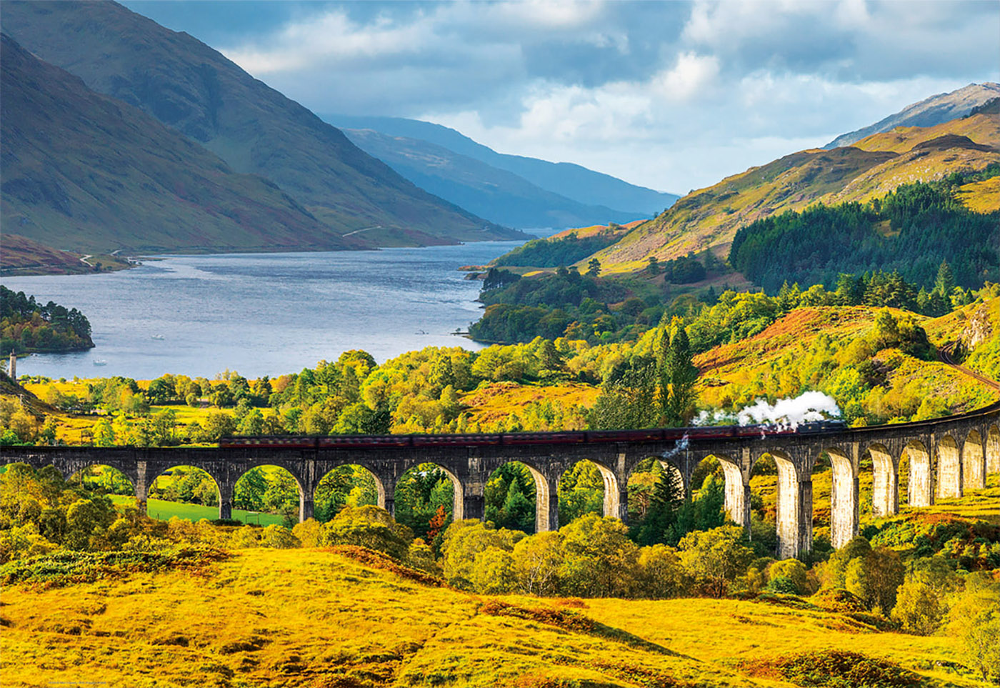 Touring Scotland: Edinburgh to Glenfinnan | Lumenatic.com |Glenfinnan Scotland