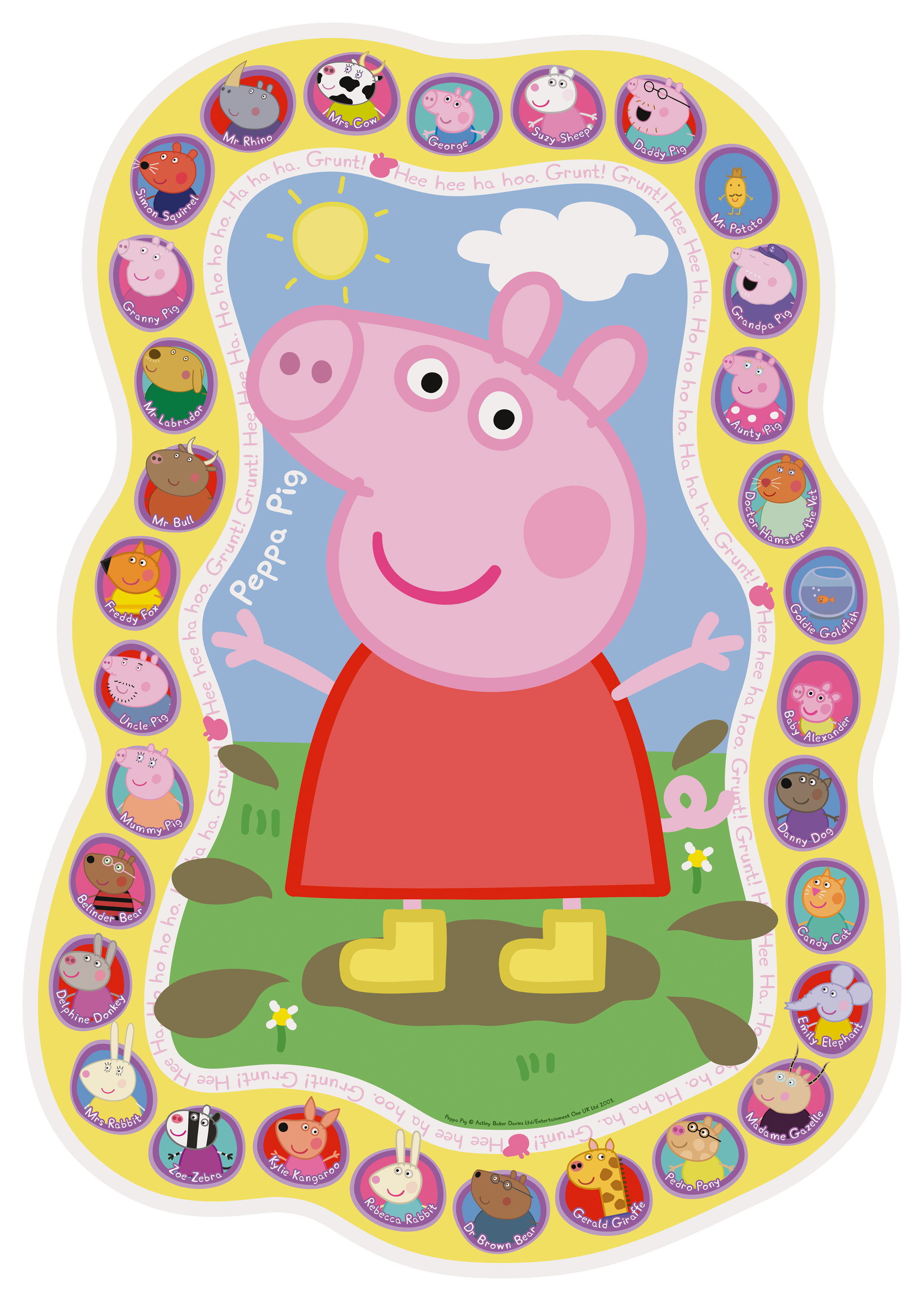 Ravensburger 05545 Peppa Pig Family And Friends 24