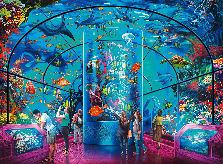 D Art Exhibition Uk : Ravensburger  aquatic exhibition ciro marchetti