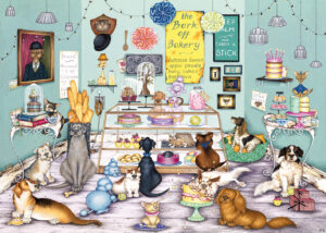 dogs in cake shop, 17/06/2016, 14:25,  8C, 8732x11932 (192+0), 150%, chrome 6 stops,  1/15 s, R92.5, G59.9, B73.2