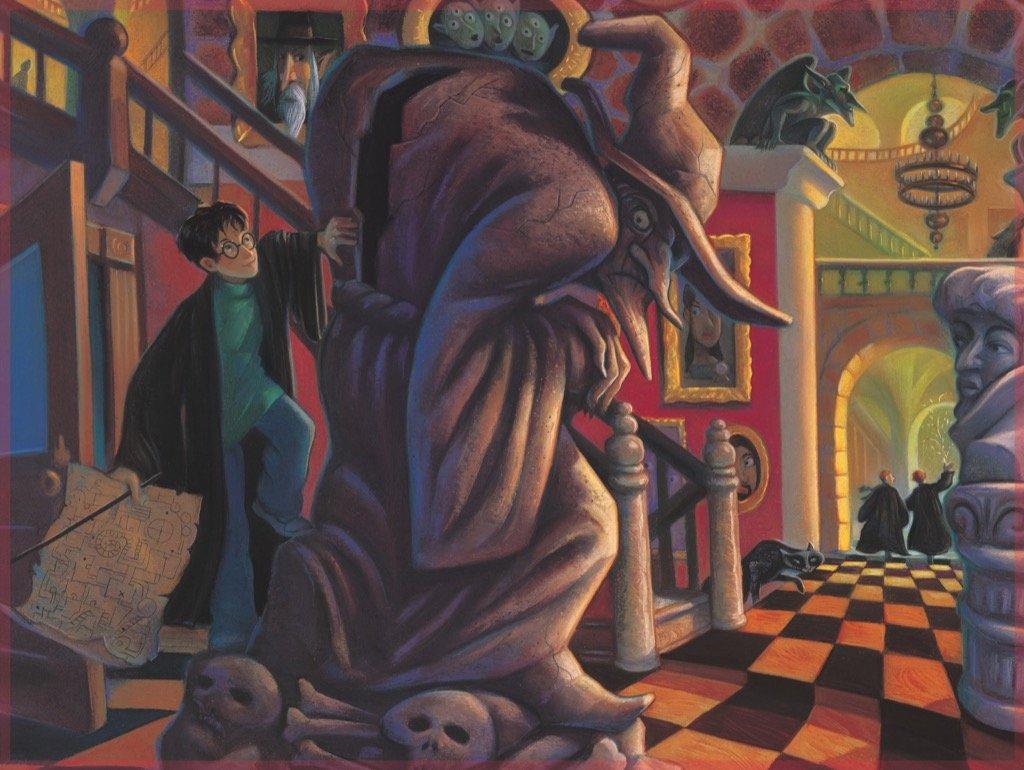 New York Puzzle Company Harry Potter